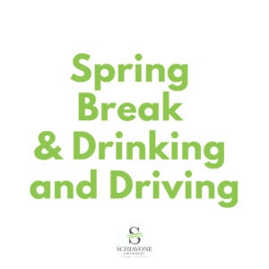 Spring break drinking and driving