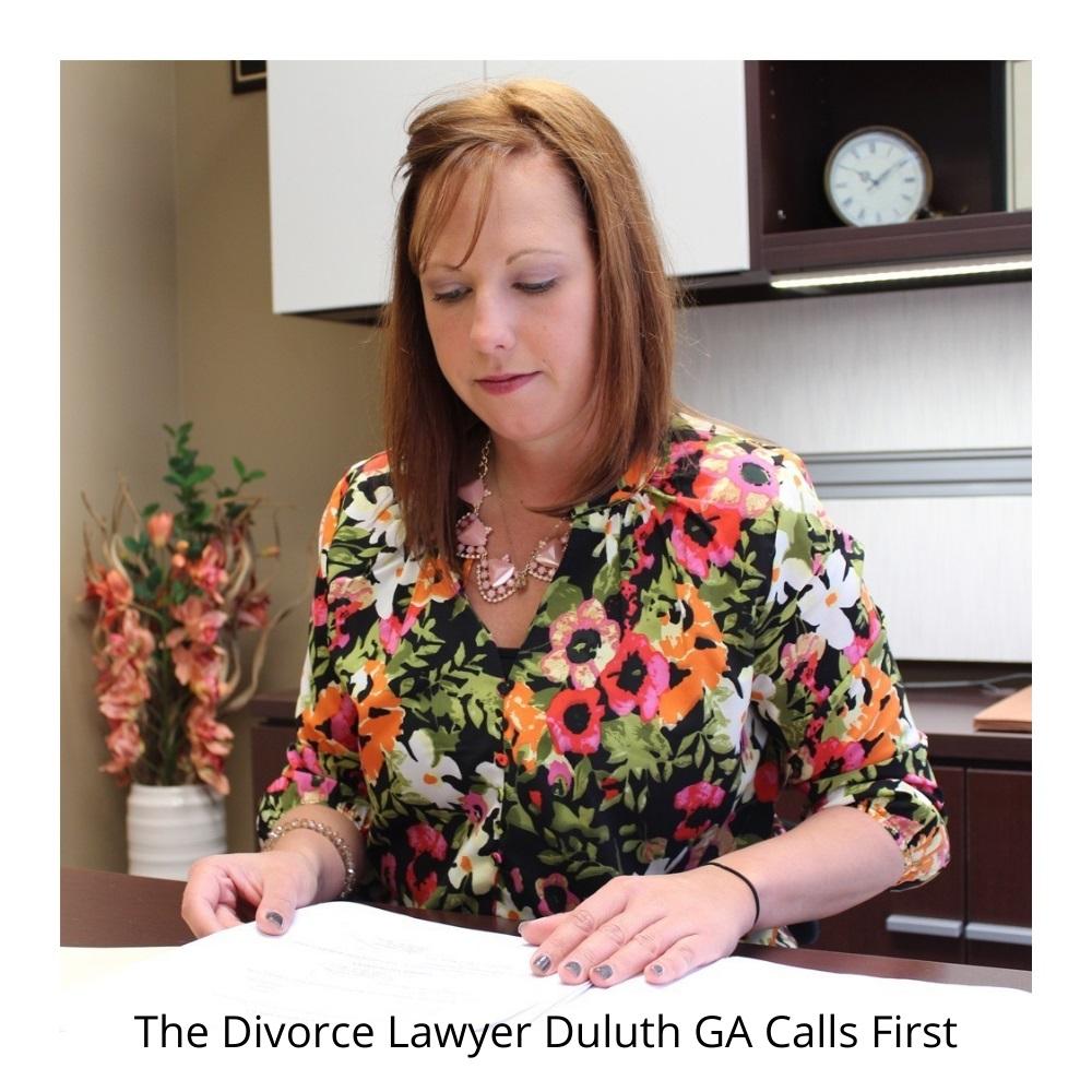 The divorce lawyer Duluth GA calls first.